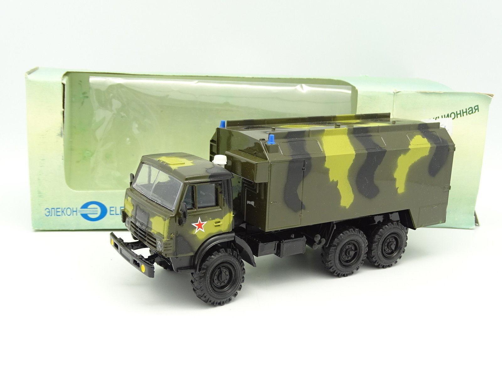 Elecon Russie 1 43 - Kamaz 4310 Box Militaire Russian Army