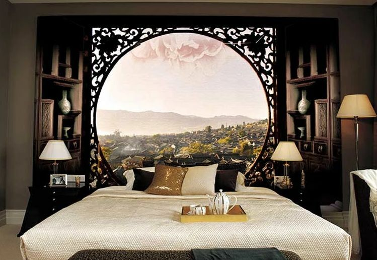 3D Sky View Retro 5210 Paper Wall Print Decal Wall Wall Murals AJ WALLPAPER GB