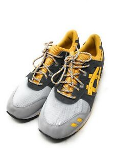watch e8f92 11e30 Details about Asics Gel-Lyte 3 Yellow Gray H521N Athletic Running Shoes  Men's Size 13