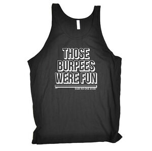 Mad Over Shirts I Believe in Burpees Unisex Premium Tank Top