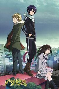 Poster Noragami Dio Stray Anime Manga Yato Hiyori Iky Yukine Tenjin Cosplay 4 Ebay