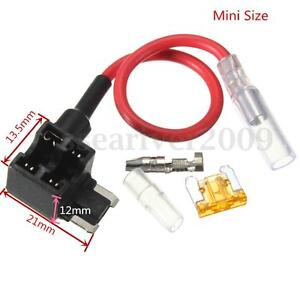 Mini-Car-ACN-A-Circuit-Piggy-Back-Pluggable-Standard-Blade-Tap-Fuse-Holder