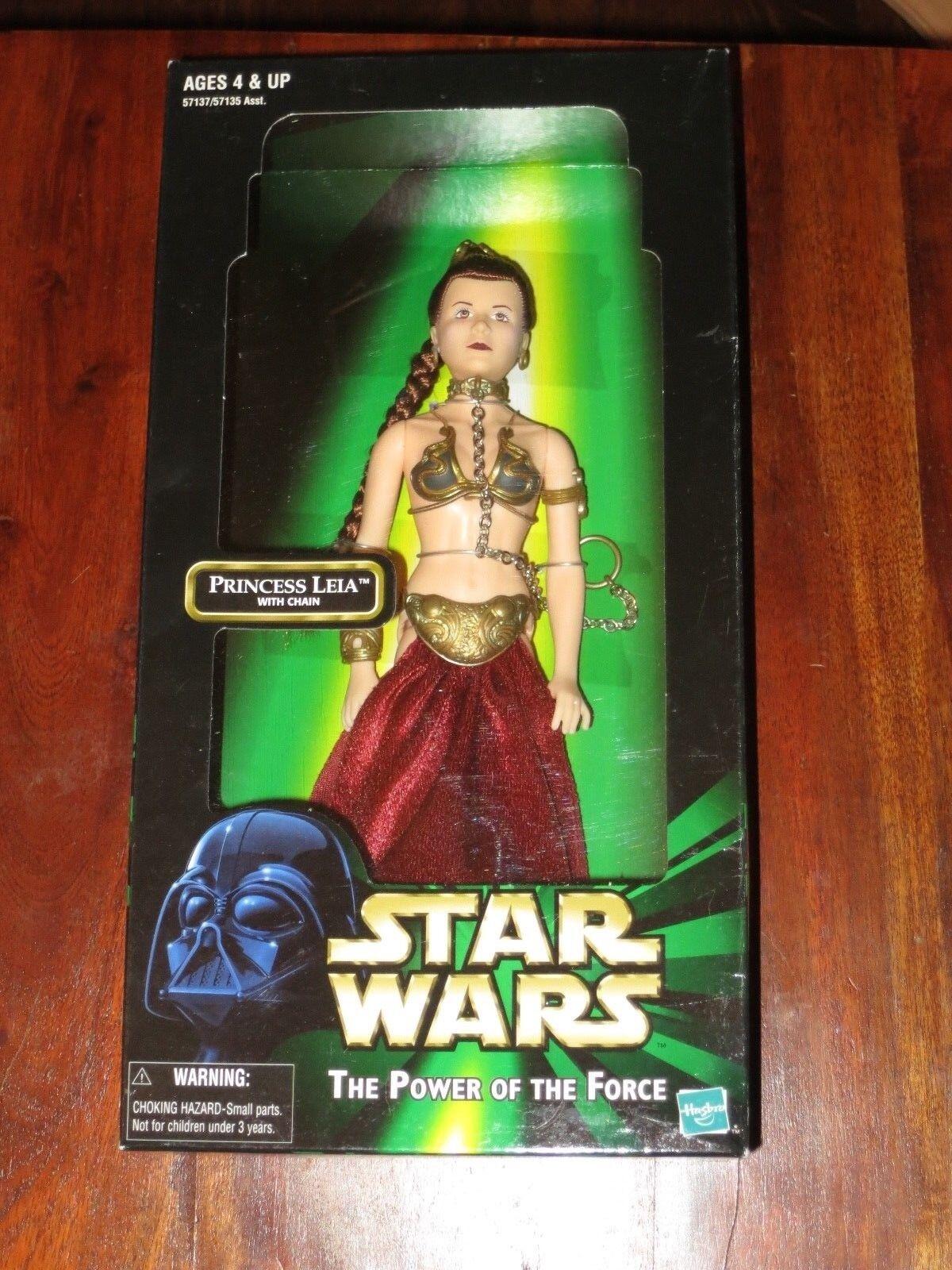 Princess Leia Slave 12 -Star Wars-Nuovo 1/6th Scale MIB-Jabba the Hutt