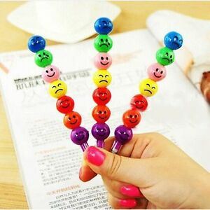 3x 7 Farbe Buntstift Bleistift Kinder Baby Geburtstag Geschenk