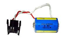 8 x CR14250SE 3V Lithium Batteries w/ Pins & Connectors (Allen Bradley 1746)