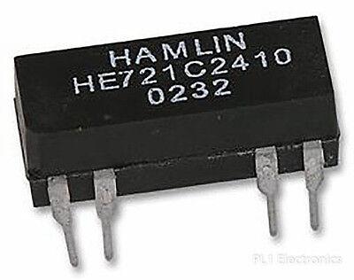 QTY=1pcs HE722A1210 Hamlin Reed Relay DPST 500mA 12V