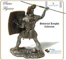 Pewter Roman Legionnaire w/ Javelin 4.25in Myths/Legends Historical Knights 7694