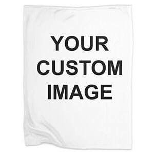 22f14e345 Image is loading Custom-Blanket-Custom-image-throw-blanket-personalized -photo-