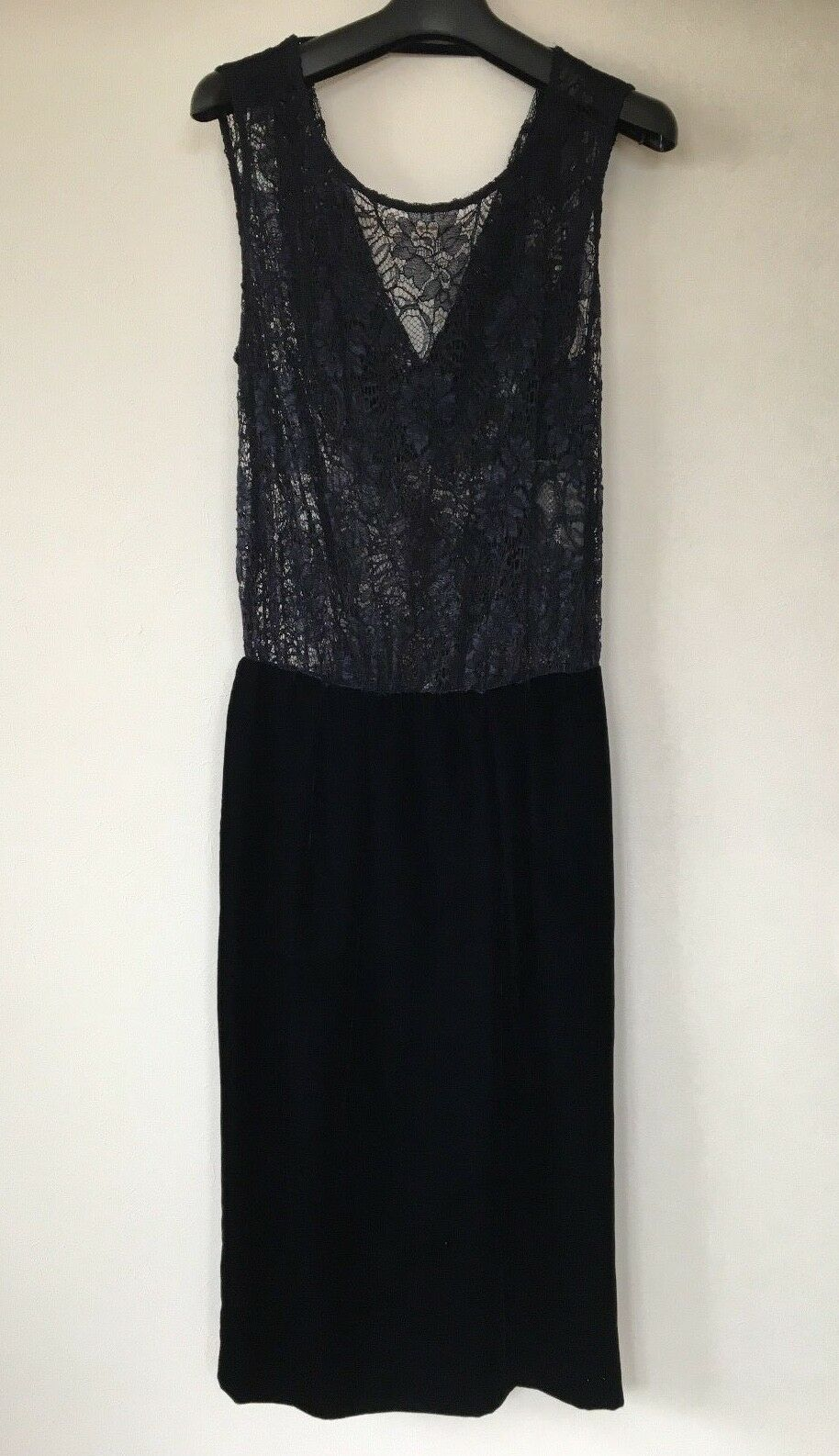 Patrizia Pepe Dress schwarz Größe 40 Free Shipping From Japan New