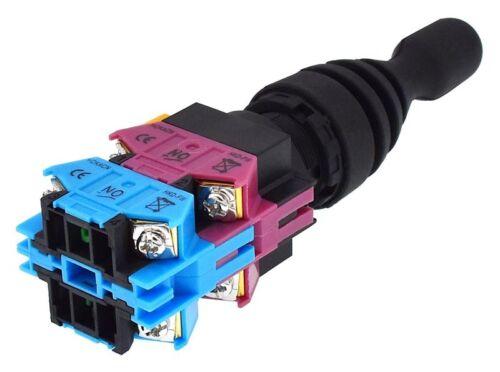 4-Polig Koordinatentaster X//Y-Achse 440 V AC//DC Joystick 4 Richtungen Taster