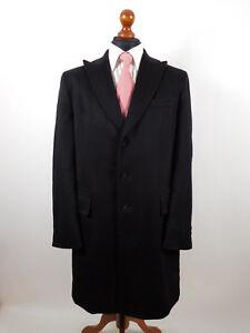 Lezard Coat Rene New Cashmere Top 52 taglia Condition Wool Winter Autumn pPxwdAx4