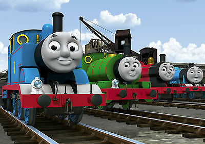 Thomas The Tank Engine A4 260gsm Poster Print
