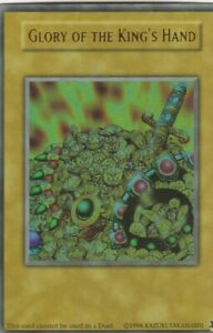 YUGIOH-HOLO-CARD-TOKKEN-YGLD-GLORY-OF-THE-KING-039-S-HAND