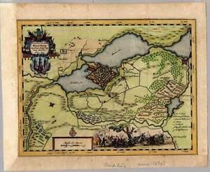 Rendsburg Kupferstich Plan Karte Von Petersen Nach J Meier Bei