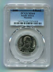 Nelson-Mandela-Year-2000-Smiling-Face-Pcgs-Graded-Ms64-Ms-64-R5-Coin