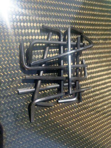 10 X métrique Bras Court Hex Clés allen 3 mm clé à six pans à tête hexagonale clés