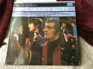 MOODY BLUES VINYL music for the millions LP SEALED go now RARE VERSION of 1st LP