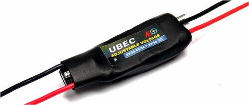 AEO RC Model Adjustable Voltage 5V//5A 6V//5A 7.2V//5A R//C Hobby UBEC BEC AC895