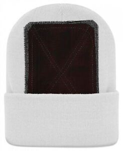 Backspin-Function-Wear-Headspin-Beanie-Cap-One-Size-White