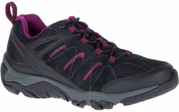 Merrell Outmost Vent Womens Lace Up Mesh Walking Hiking Trainers Shoes
