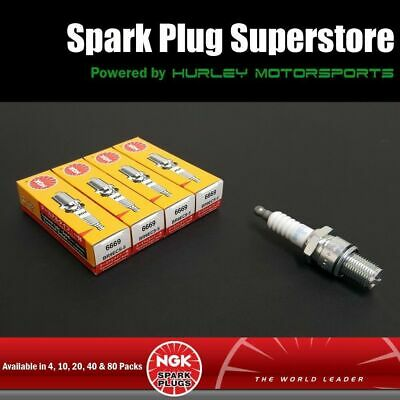 Solid Tip CR9EB Stock #6955 Standard Spark Plugs by NGK 20 Pack