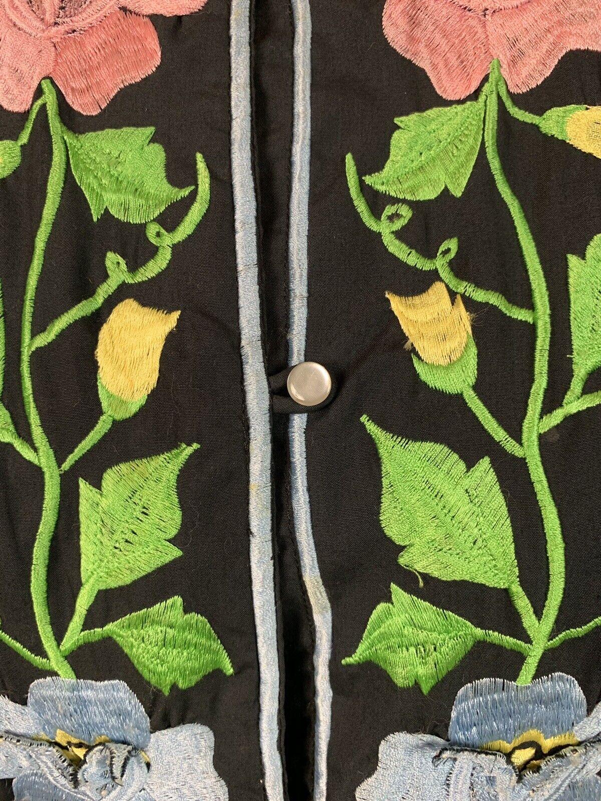 Alice John Rogers Jacket Vintage Loungewear Kimon… - image 5