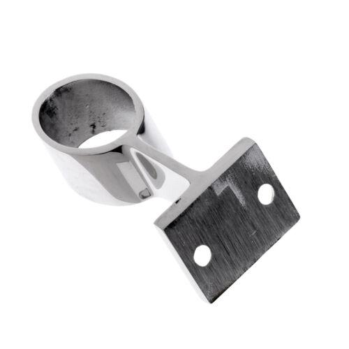 2Pcs 25mm Edelstahl Rohrstütze Rohrhalterung Stangenhalter Handlaufträger