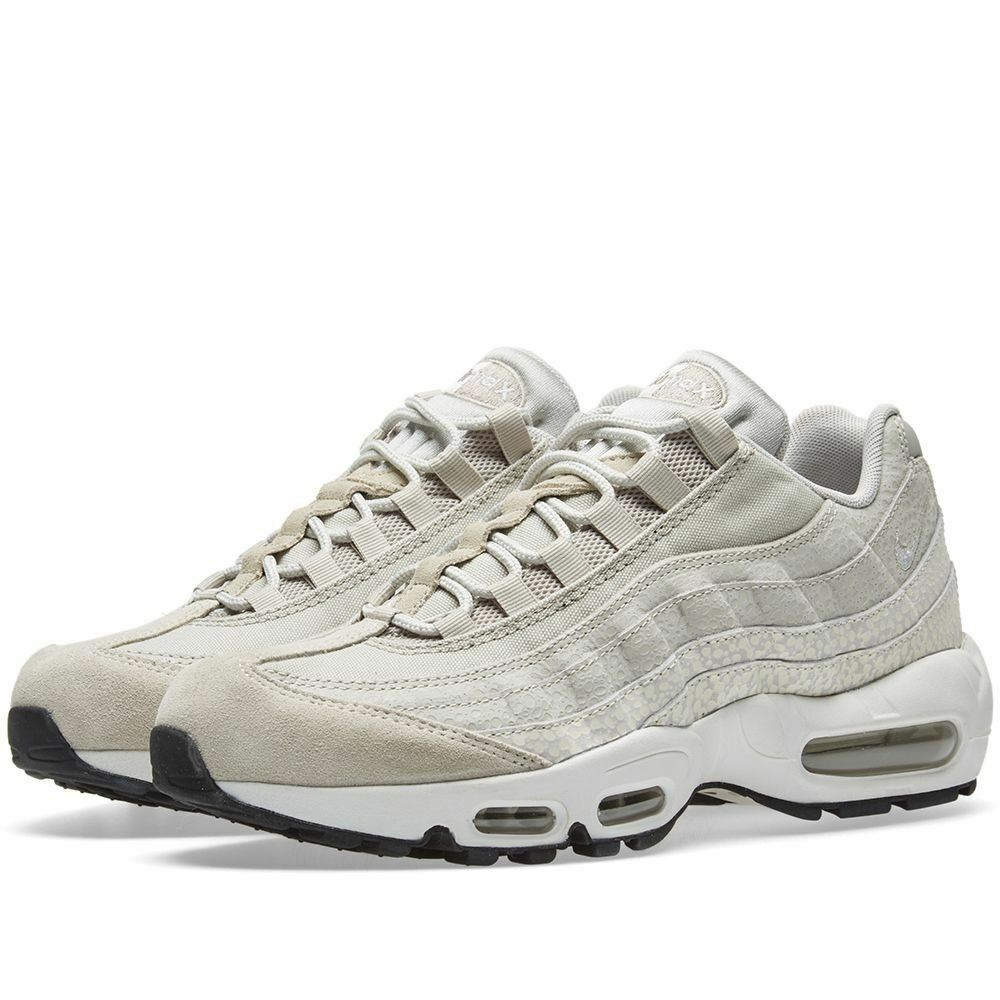 NIKE Womens Air Max 95 PRM Trainers Grey  (807443-011)