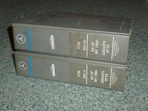 1997 Mercedes Benz C230 C280 C36 C-Class Electrical Wiring Diagrams Manual  | eBayeBay