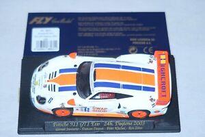 Fly-Porsche-911-GT1-Evo-24-1-32-Slotcar-Stunden-Daytona-2003-Gunnar-Raycing