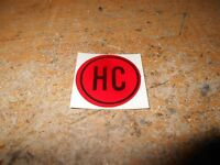 1931 1932 1933 Buick (all Models) High Compression Engine Valve Cover Decal hc