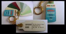 Porte clé nuancier auto spray duplicolor 1966 renault peugeot citroen fiat opel
