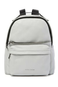 BRAND NEW WOMEN S MARC JACOBS VARSITY PACK LARGE LIGHT GREY LEATHER ... f0bec68510