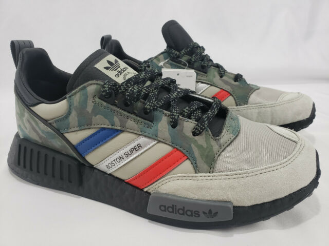first rate 61f8c 021a7 RARE! Adidas Boston SuperX R1 NMD Camo Black Boost Mens Shoes Sneakers  G27936