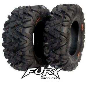 ATV-UTV-Quad-Tyre-Set-of-4-29x11-14-amp-29x9-14-FURY-Crawler-HD-8ply