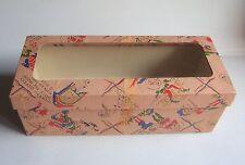 Boite vide ancienne pour poupée Highland Lassie 20cm vintage doll empty box