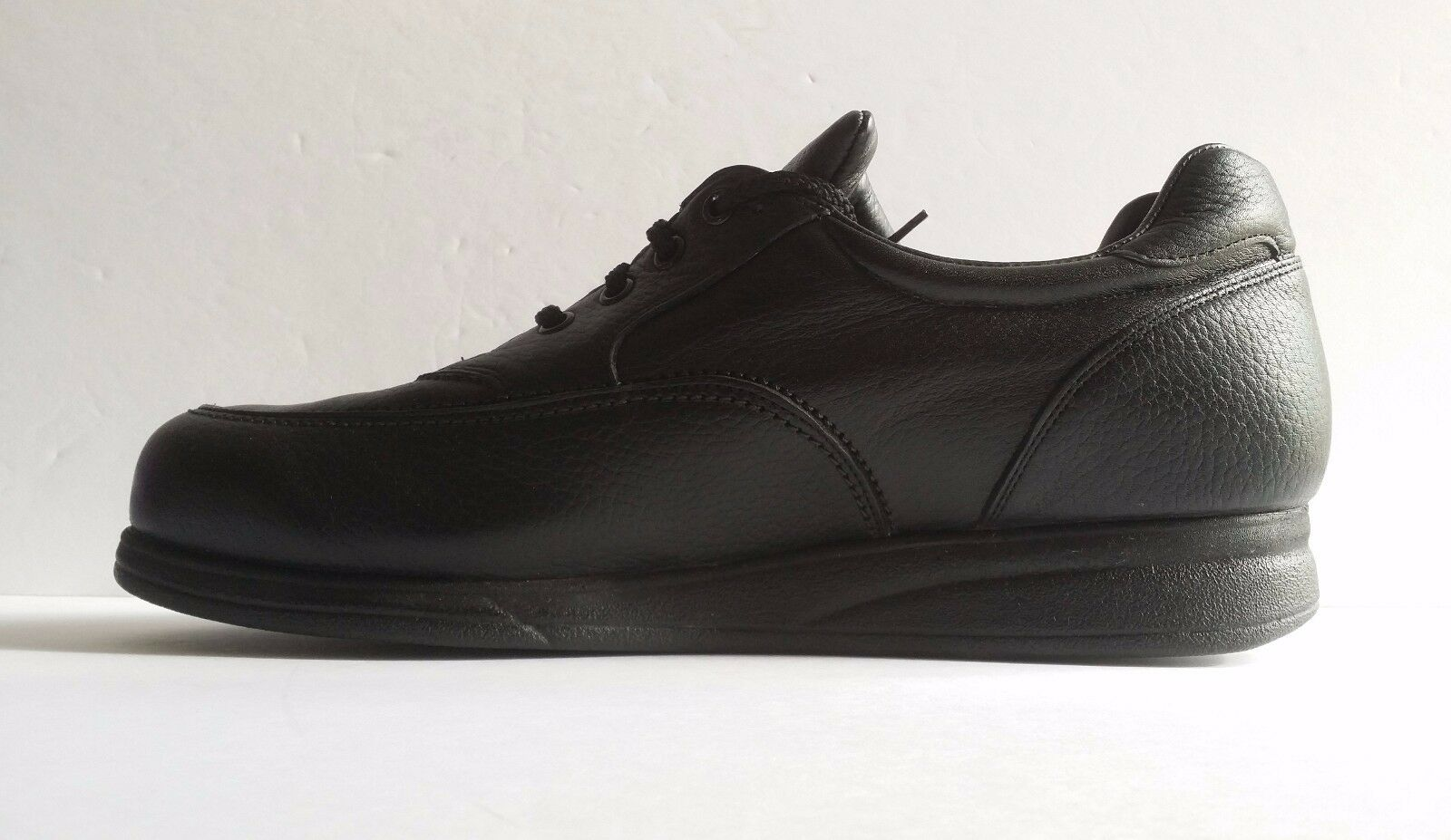 Amputee PW Minor Black Leather Extra Depth Orthopedic Right Shoe Size 11.5 D
