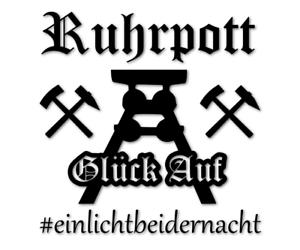Glueck-Auf-Aufkleber-Ruhrpott-Sticker-Auto-einlichtbeidernacht-decal-24-8371