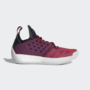 21d31fb3d345 Adidas Basketball James Harden Vol. 2 Boost Bold Red Grey AH2124
