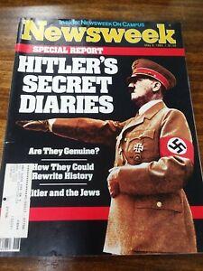 NEWSWEEK-Magazine-May-2-1983-HITLER-039-S-SECRET-DIARIES-RETURN-OF-THE-JEDI
