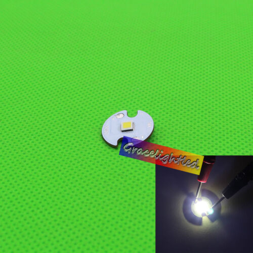 Cree XH35 12V 13W 1483Lm Cool White 6500K LED Chip with 16mm// 20mm Copper PCB