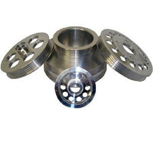 Ralco RZ Performance Underdrive Pulley Kit for 94-96 Nissan 300zx Turbo  Vg30dett