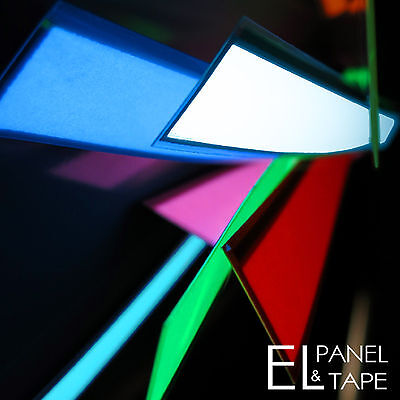 Electroluminescent Glow Foil  in 8 Colours £7.00 20mm x 250mm EL Tape