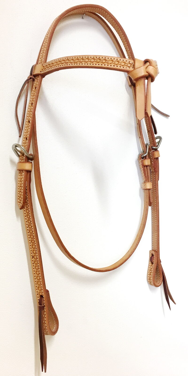 Westerntrense Futurity mit Tooling Westernzaum Headstall tolle Punzierung