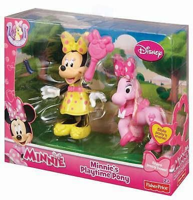 Fisher-Price Disney Minnie/'s Playtime Pony 2 NEW bjn95