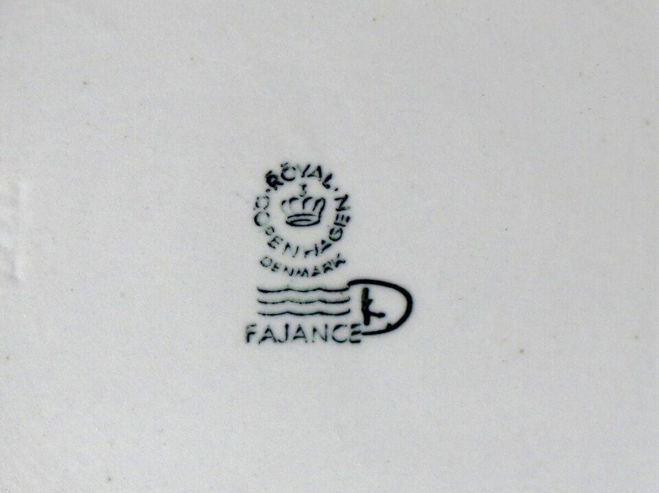 Fajance, Lille Baca skål, Royal Copenhagen