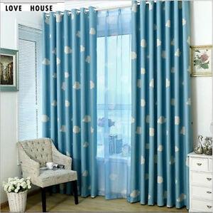 Image Is Loading Kids Nursery 80 Blockout Eyelet Curtains Drapes ZERO