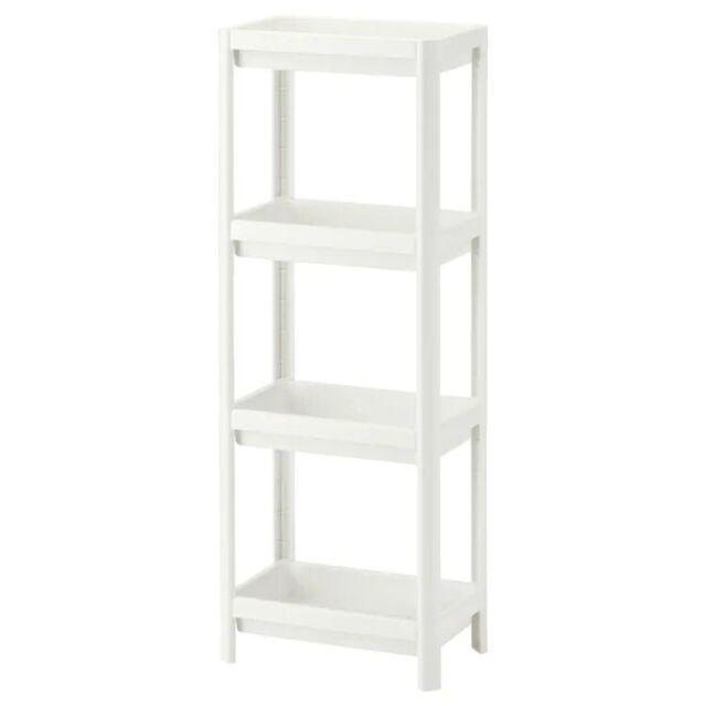IKEA Vesken weiß Badezimmer Schrank Regal