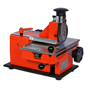 Label Semi Automatic Sheet Embosser Metal Stamping Printer