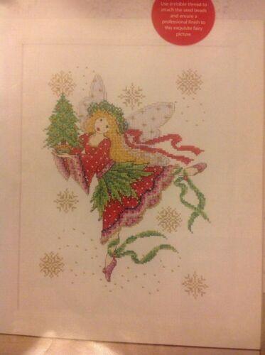 Joan Elliott LA FATA confetto Natale cross stitch chart